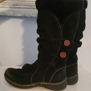Black Baretraps boot Size 8